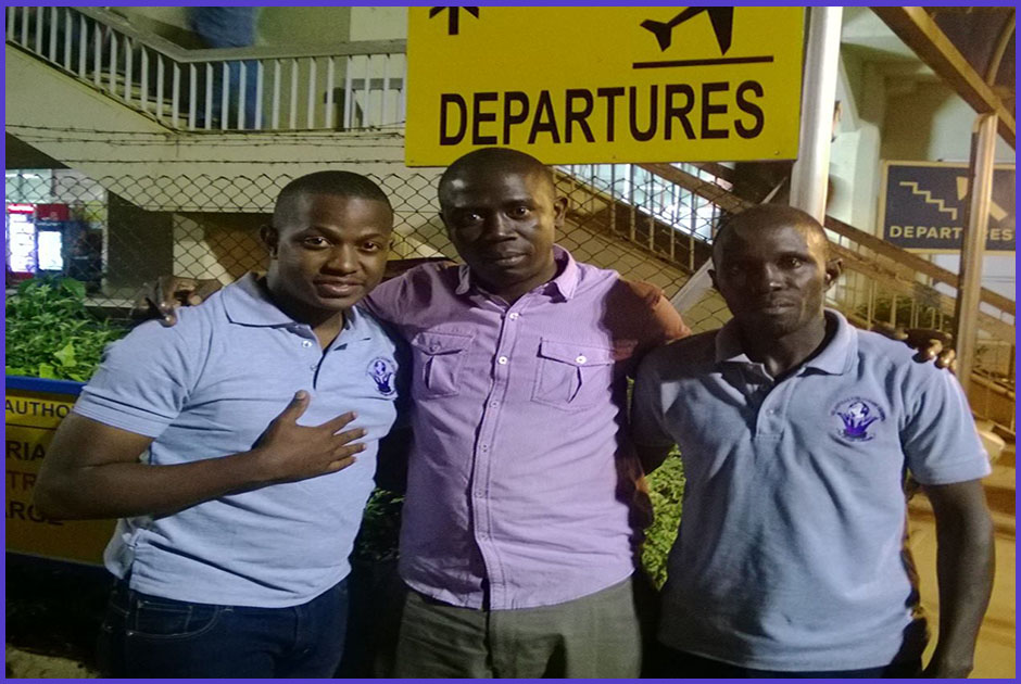 Hakim Kambugu, is yet another volunteer who travelled to United Kingdom to volunteer for a period of 12 months, courtesy of Volunteers for Change Uganda (V.O.C.U).