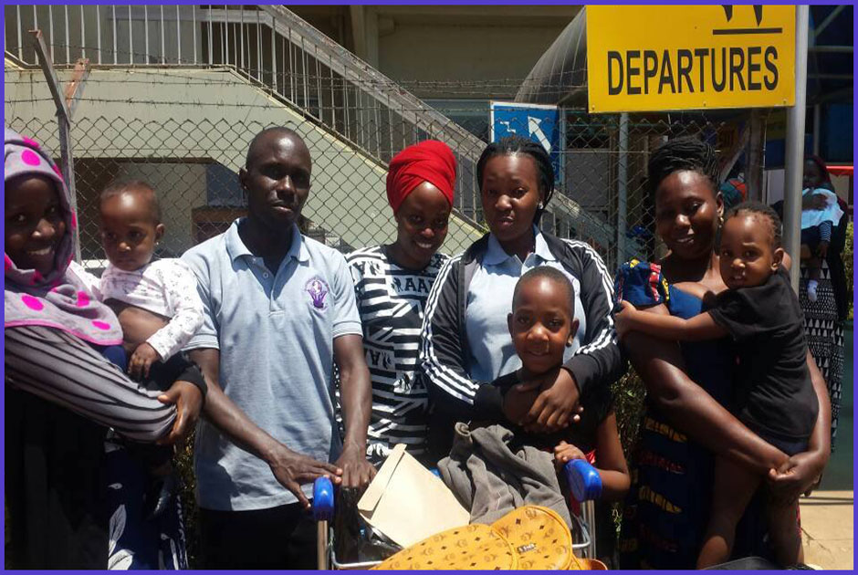 Shakirah Namubiru, is among our volunteers who set off for the Republic of Ireland to volunteer for 12 months, courtesy of Volunteers for Change Uganda (V.O.C.U).